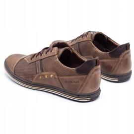 Polbut Casual men's shoes 1801P brown 8