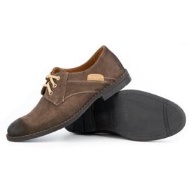 KENT Men's casual shoes 272 brown 4