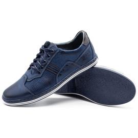 Polbut Men's casual shoes 1801P navy blue 8