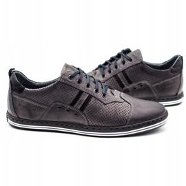 Polbut Men's casual shoes 1801P gray grey 4