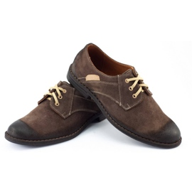 KENT Men's casual shoes 272 brown 5