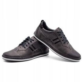 Polbut Men's casual shoes 1801P gray grey 5