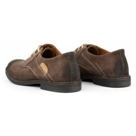 KENT Men's casual shoes 272 brown 6