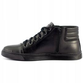 KENT 304 Men's Casual Shoes black 1