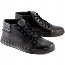 KENT 304 Men's Casual Shoes black 2