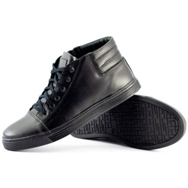 KENT 304 Men's Casual Shoes black 3