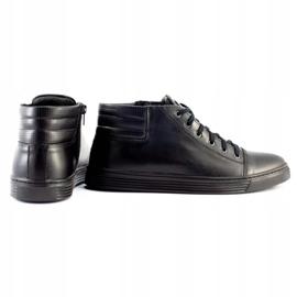 KENT 304 Men's Casual Shoes black 4