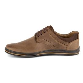 Polbut Casual men's shoes 402 brown 1