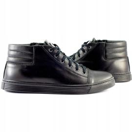 KENT 304 Men's Casual Shoes black 5