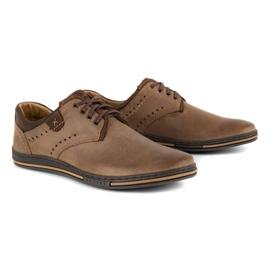 Polbut Casual men's shoes 402 brown 2