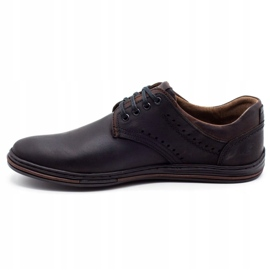 Polbut Men's casual shoes 402 black 1
