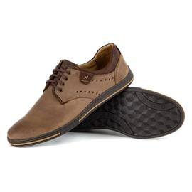 Polbut Casual men's shoes 402 brown 3
