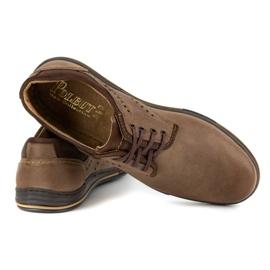 Polbut Casual men's shoes 402 brown 4