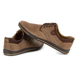 Polbut Casual men's shoes 402 brown 5