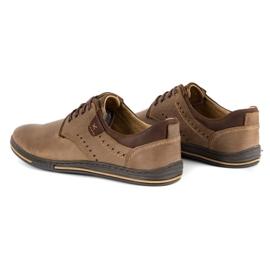 Polbut Casual men's shoes 402 brown 6