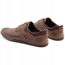 Polbut Casual men's shoes 402 brown 7