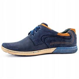 KOMODO Men's casual shoes 861L navy blue 1