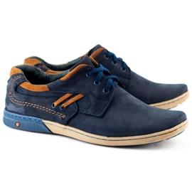 KOMODO Men's casual shoes 861L navy blue 2