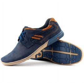 KOMODO Men's casual shoes 861L navy blue 3