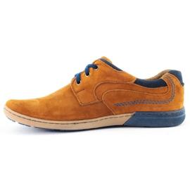 KOMODO Casual men's shoes 861L red multicolored 1