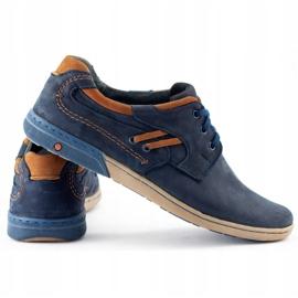 KOMODO Men's casual shoes 861L navy blue 4
