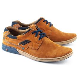 KOMODO Casual men's shoes 861L red multicolored 2