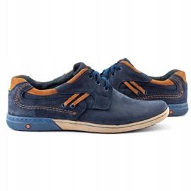 KOMODO Men's casual shoes 861L navy blue 5