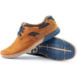 KOMODO Casual men's shoes 861L red multicolored 3