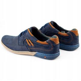 KOMODO Men's casual shoes 861L navy blue 6