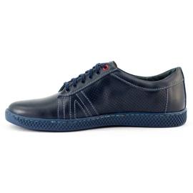 KOMODO Men's casual shoes 910 navy blue 2