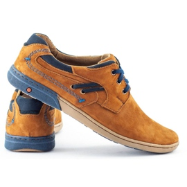KOMODO Casual men's shoes 861L red multicolored 4