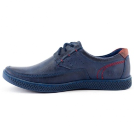 KOMODO Men's casual shoes 911 navy blue 1