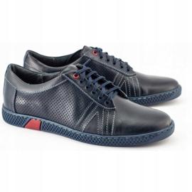 KOMODO Men's casual shoes 910 navy blue 3