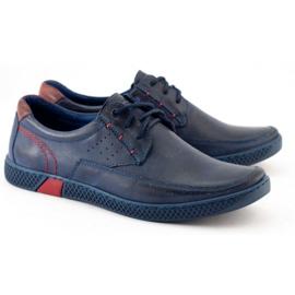 KOMODO Men's casual shoes 911 navy blue 2