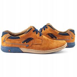 KOMODO Casual men's shoes 861L red multicolored 5
