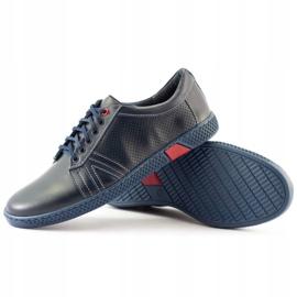 KOMODO Men's casual shoes 910 navy blue 4