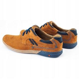 KOMODO Casual men's shoes 861L red multicolored 6