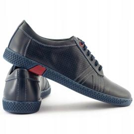 KOMODO Men's casual shoes 910 navy blue 5