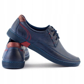 KOMODO Men's casual shoes 911 navy blue 4