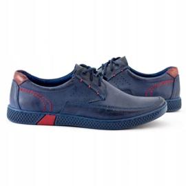 KOMODO Men's casual shoes 911 navy blue 5