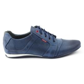 Polbut Casual men's shoes C34P Navy Blue 1