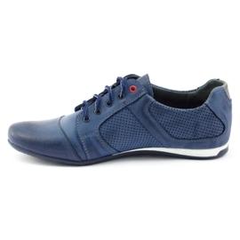 Polbut Casual men's shoes C34P Navy Blue 2