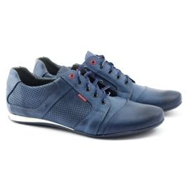 Polbut Casual men's shoes C34P Navy Blue 3