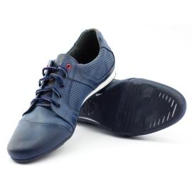 Polbut Casual men's shoes C34P Navy Blue 4