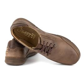 Polbut Casual men's shoes J55 brown 4