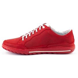 Polbut Casual men's shoes JOK31 red 6