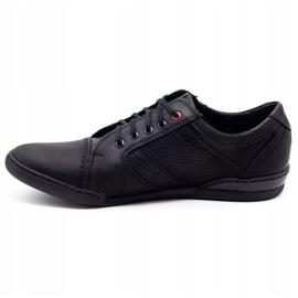 Polbut Men's casual shoes R3 Perforation Black 6