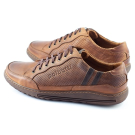 Polbut JOK31 brown casual men's shoes 3