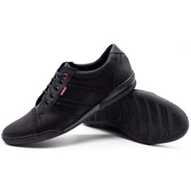 Polbut Men's casual shoes R3 Perforation Black 8