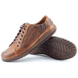 Polbut JOK31 brown casual men's shoes 6